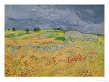 The Plain at Auvers, c.1890 Premium Giclee Print by Vincent van Gogh