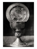 Chalice and Eucharist Plate, Belonging to the Abbot Pelage End 12th Beginning 13th Century Giclee Print