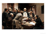 The Lesson of Claude Bernard (1813-78) Or, Session at the Vivisection Laboratory, 1889 Premium Giclee Print by Léon Augustin L'hermitte
