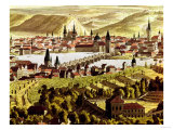 View of Prague Giclee Print