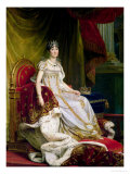 Empress Josephine (1763-1814) 1808 Giclee Print by Francois Gerard