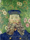 Portrait of the Postman Joseph Roulin, c.1889 Giclée-tryk af Vincent van Gogh