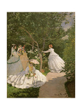 Women in the Garden, 1867 Reproduction procédé giclée par Claude Monet