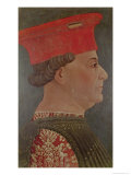 Francesco Sforza (1401-66) Duke of Milan Giclee Print by Bonifacio Bembo