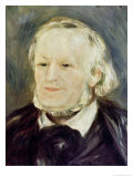 Portrait of Richard Wagner (1813-83), 1893 Giclee Print by Pierre-Auguste Renoir