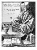 Desiderius Erasmus (1466-1536) of Rotterdam, 1526 Giclée-Druck von Albrecht Dürer