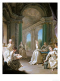 Modern Virgins, 1728 Giclee Print by Jean Raoux