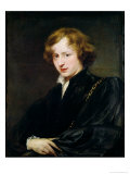 Self Portrait, circa 1622 Giclee Print by Sir Anthony Van Dyck