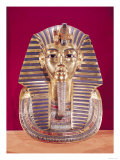The Funerary Mask of Tutankhamun (circa 1370-1352 BC) circa 1336-1327 BC, New Kingdom Giclee Print