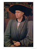 Portrait of Jean Lefevre De Saint-Remy (1396-1468) Giclee Print by Rogier van der Weyden