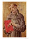 St. Anthony of Padua Giclée-Druck von Bartolomeo Vivarini