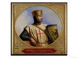 Robert II Le Hierosolymitain, Count of Flanders (D.1111) 1843 Giclee Print by Henri Decaisne