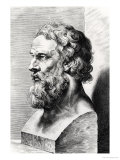 Bust of Plato (circa 427-circa 348 BC) Engraved by Lucas Emil Vorsterman (1595-1675) Giclee Print by Peter Paul Rubens