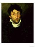 Kleptomania: Portrait of a Kleptomaniac, circa 1819/22 Giclee Print by Théodore Géricault