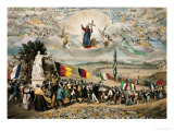 Universal Democratic and Social Republic, 1848 Giclee Print by Frederic Sorrieu