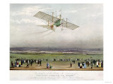 "The Flying Machine, the ""Ariel,"" from Designs Prepared by W.S. Henson in 1842 Giclee Print"