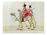 Soldiers of the Dromedary Regiment, 1839 Giclee Print by Laderer 