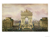Return of the Ashes of the Emperor to Paris, 15th December 1840 Reproduction procédé giclée par Theodore Jung
