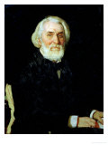 Portrait of Ivan S. Turgenev (1818-83), 1879 Giclee Print by Ilya Efimovich Repin