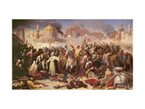 Taking of Jerusalem by the Crusaders, 15th July 1099, 1847 Giclee Print by Emile Signol