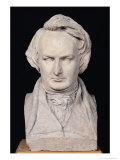 Bust of Victor Hugo (1802-85) Aged 35, 1837 Giclee Print by Pierre Jean David d'Angers