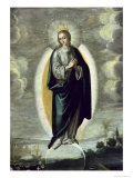The Immaculate Conception Giclee Print by Francisco Pacheco