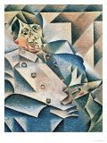 Portrait of Pablo Picasso (1881-1973) 1912 Giclee Print by Juan Gris