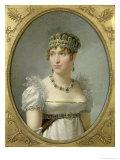 Hortense De Beauharnais (1783-1837) Giclee Print by Jean-Baptiste Regnault