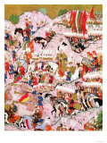 """Hunername"" Manuscript: Suleyman the Magnificent (1494-1566) Giclee Print"