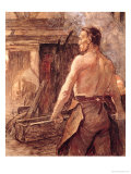 Foundry Worker, 1902 Giclee Print by Constantin Meunier