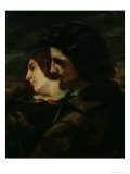The Lovers in the Countryside, after 1844 Giclee Print by Gustave Courbet