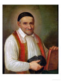St. Vincent De Paul (1581-1660) 1649 Giclee Print by Sebastien Bourdon