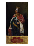 Richard I the Lionheart (1157-1199) King of England, 1841 Giclee Print by Merry Joseph Blondel