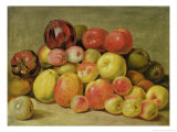Pieces of Fruit Giclee Print by Johann Heinrich Wilhelm Tischbein