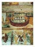 Noah's Ark During the Flood, circa 1100 Premium Giclee Print
