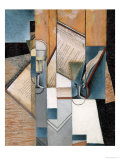 The Book, 1913 Reproduction procédé giclée par Juan Gris