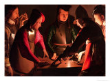 The Dice Players Giclee Print by Georges de La Tour
