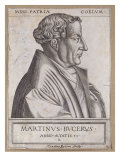 Martin Bucer (1491-1551) at the Age of 53 Giclee Print by Rene Boyvin