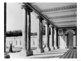 View of the Peristyle and the Left Wing of the Grand Trianon, 1687-88 Giclee Print by Jules Hardouin Mansart