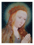 The Virgin at Prayer Giclee Print by Quentin Metsys