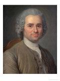 Jean-Jacques Rousseau (1712-78) Giclee Print by Maurice Quentin de La Tour