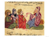 Solon (638-559 BC) Teaching Giclee Print