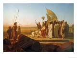 Xerxes at the Hellespont Giclee Print by Jean Adrien Guignet
