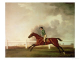 Bay Malton with John Singleton Up, circa 1767 Giclee Print by George Stubbs