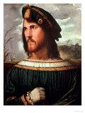 Cesare Borgia (1475-1507) Duke of Valencia Giclee Print by Altobello Meloni