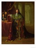 Portrait of Jean-Baptiste Colbert, Marquis De Torcy (1655-1746) Giclee Print by Robert Tournieres