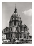 Facade of the Church of St. Louis, Dome Des Invalides, 1679-1706 Giclee Print by Jules Hardouin Mansart