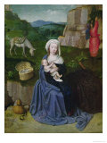 The Rest on the Flight into Egypt Giclee Print by Gerard David