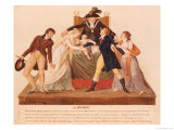 Divorce. the Reconciliation Giclee Print by Le Sueur Brothers