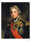 Portrait of Nelson (1758-1805) Reproduction procédé giclée par George Peter Alexander Healy